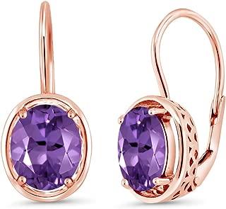 Best rose amethyst earrings Reviews