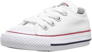 Chuck Taylor All Star OX Toddler Shoes Optical White 7j256