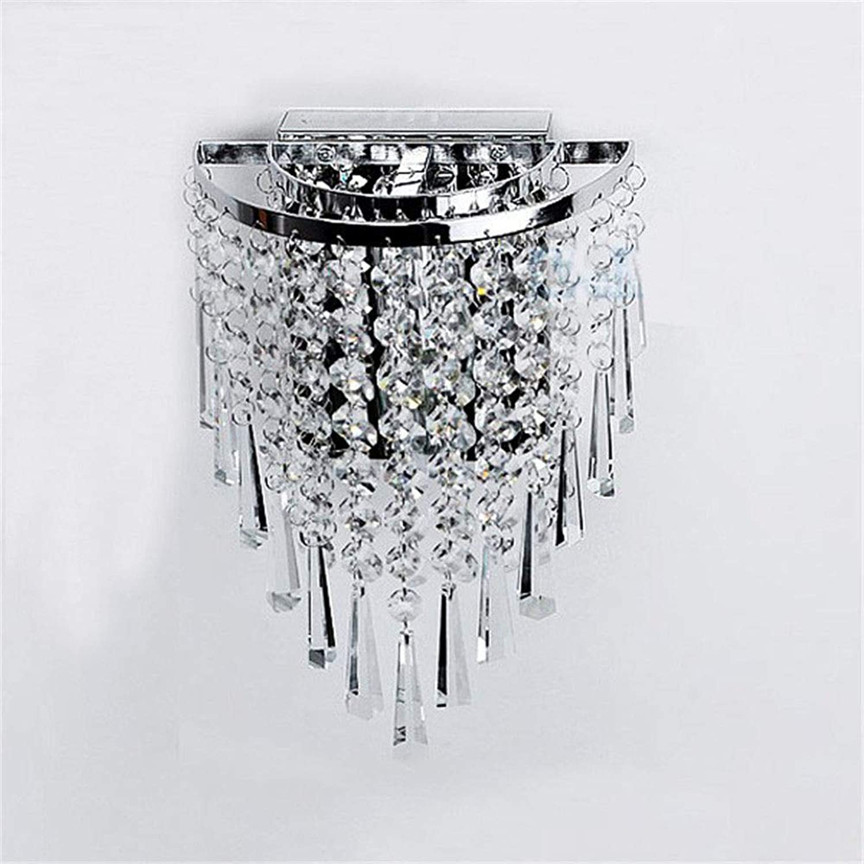 Wandleuchte Moderne LED Kristall Glanz Luminarias Para Sala LED-Lampen für Haus Gang Flur Balkon 220 V E14 LED Wandleuchten