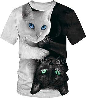 a25a3c5b8 Amazon.fr : Chat - T-shirts, polos et chemises / Homme : Vêtements