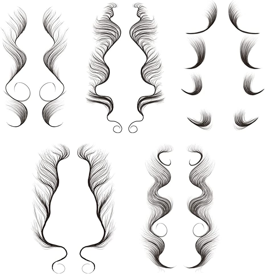 Hair Edge Tattoo Stickers Hairline Tattoo Sticker Template Fake Hair Tattoo Creating The Seriously Real Curly Hair for Women Hair Salon DIY Hairstyling Make Up Waterproof Lasting 5 Styles
