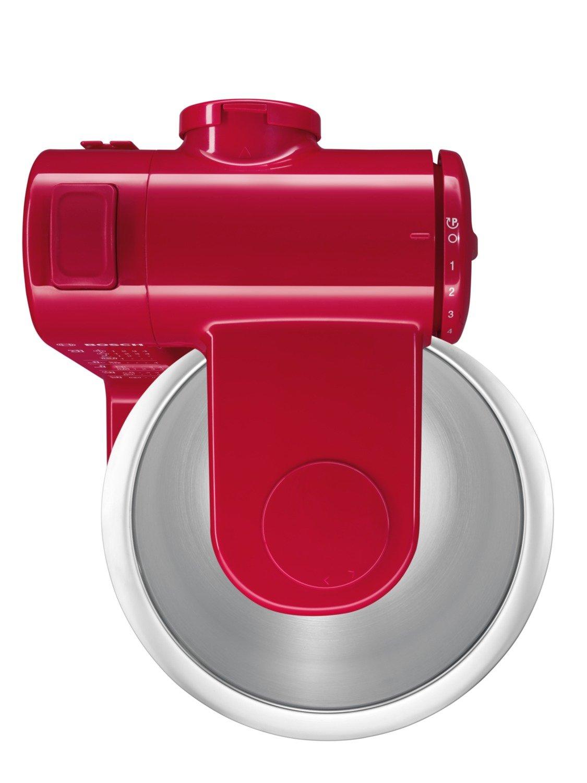 Bosch MUM44R1 - Robot de cocina, 500 W, capacidad 3,9 l, color rojo: Amazon. es: Hogar