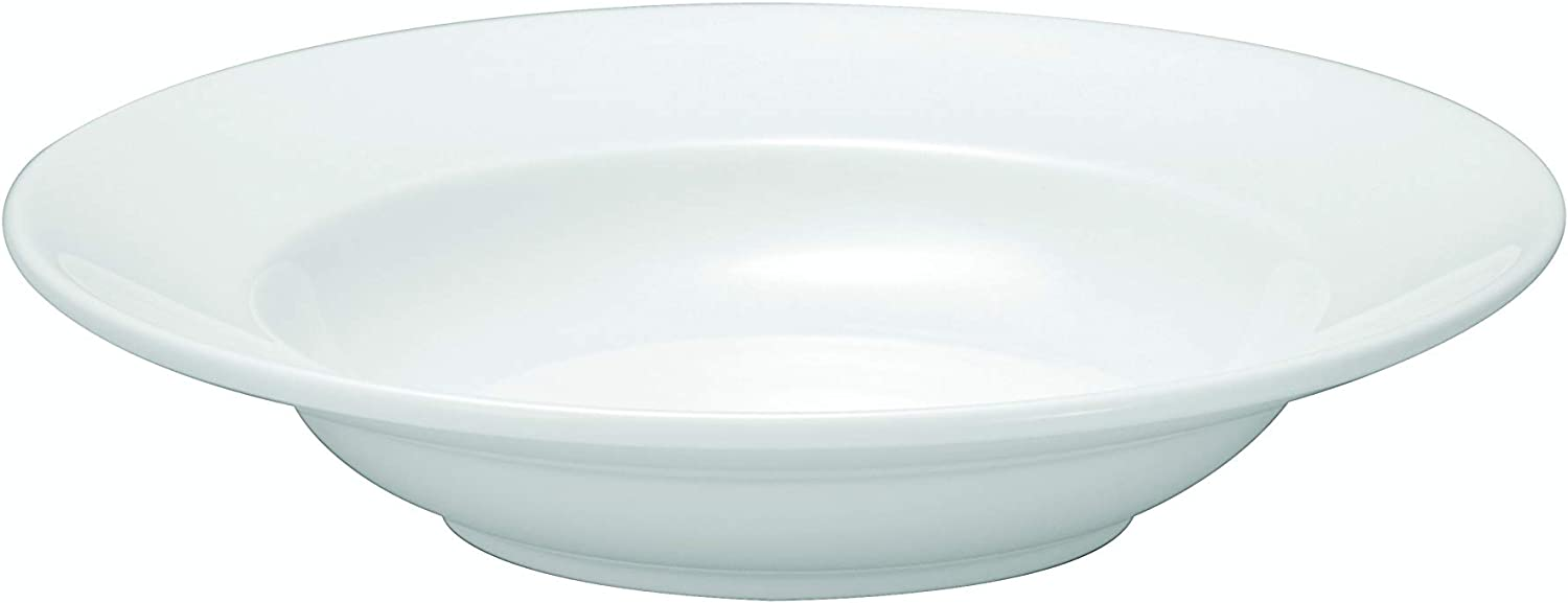 Oneida Wide Rimmed Pasta Bowls 44 Set Bright Credence oz of White 12 low-pricing