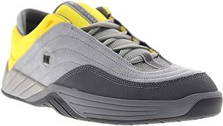 DC Shoes Men's Williams Slim Low Top Sneaker Shoes Gray/Yellow