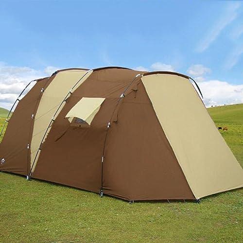 NINI Chambres Détachables De Rainproof2 De Double Couche Extérieure De Tente pour La Tente Extérieure DE 6-8 Personnes