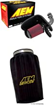 AEM 21-805C Cold Air Intake System with Black Air Filter Wrap