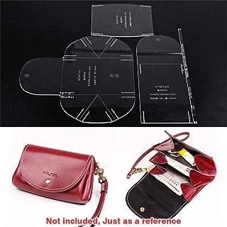 WUTA Original Design Small Clutch Bag Acrylic Template Ladies Mini Handbag Model Clear Leather Pattern Set Craft Cutting Tool WT957