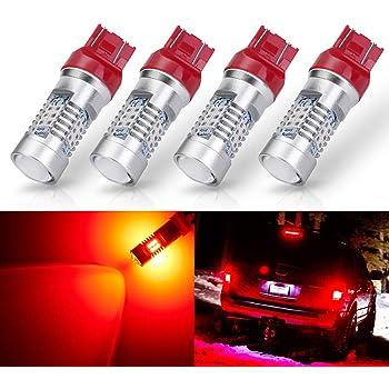 6000K Xenon White KXJX T20 7441 7444 LED Light Bulb for Reverse Light Tail Brake Blinker Lights 7440 7443 LED Back Up Light Bulbs