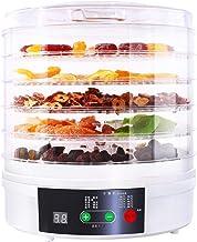 L.TSA Déshydrateur Alimentaire 5 Plateaux sans BPA, réglage de la température 35~68 ℃, Max 48h, Machine à déshydrateur de ...