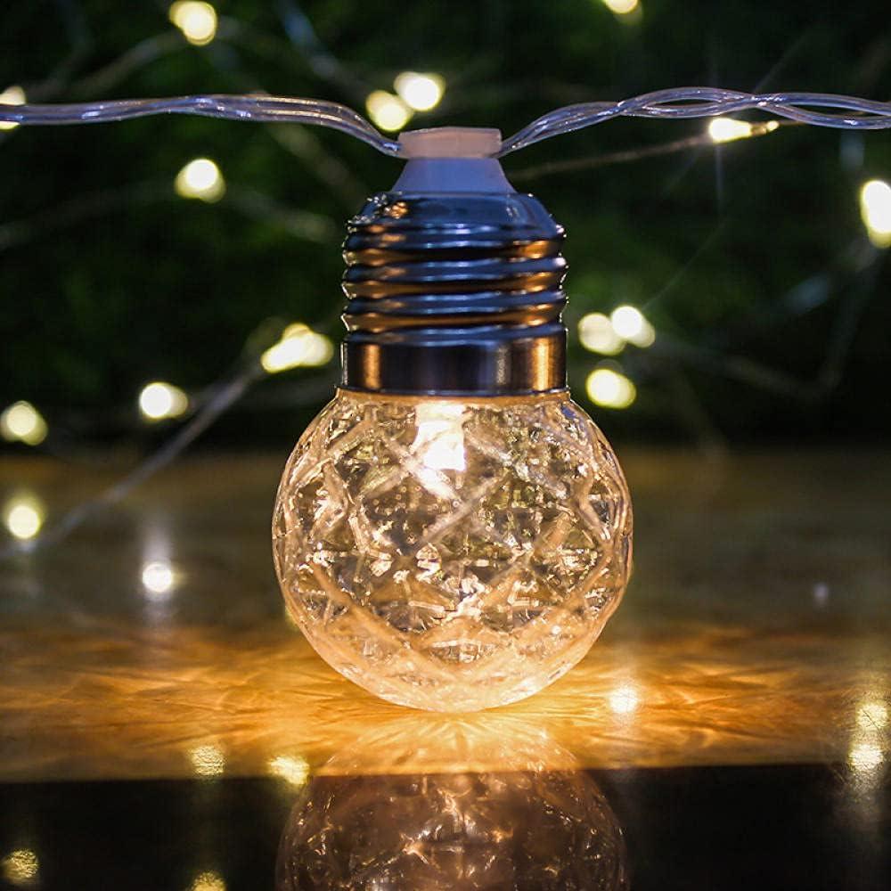 Solar Light LED String Fairy Lights Outdoor 20LED Max 70% OFF Nashville-Davidson Mall Bulb 6M