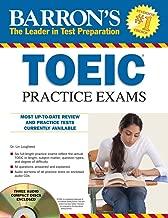 Barron's TOEIC Practice Exams with 4 Audio CDs