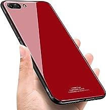 Huawei Honor V10 skal, Surakey härdat glas bakskydd silikon TPU stötfångare hybrid reptålig stöttålig droppskyddande skal ...