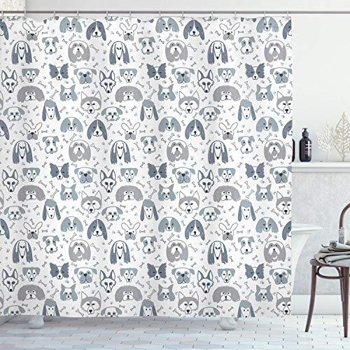 cortinas de baño infantil perritos