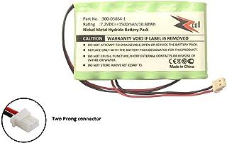 ZZcell Battery for Honeywell Ademco Alarm Lynx LYNXRCHKITHC LYNXRCHKIT-HC K5109 781410403291 55026089 WALYNX-RCHB-SC WALYNXRCHBSC LYNXRCHKIT-SC 1500mAh (Note: Please Check Part No. Before Purchase)