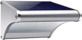 Motion Sensor Light Outdoor, Solar Powered Wall Light Aluminum Alloy Housing Waterproof Outdoor Solar Lights 120° Radar 48...