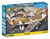 COBI- Modèle Messerschmitt BF 109-African Mission, 5544, Marron, Gris, Vert, Orange