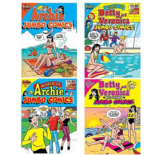 Archie Comics Digest Value Packs (Summer 2021 Vol 2 4-Pack)