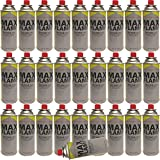 NEW 28 PC X MAX FLAME BUTANE <span class='highlight'>GAS</span> <span class='highlight'>BOTTLE</span> CANISTERS 28PC <span class='highlight'>BOTTLE</span>S FOR COOKER HEATER STOVE BBQ CAMPING PACK OF 28