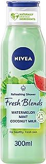 NIVEA Fresh Blends Shower Gel with Watermelon Mint & Coconut Milk, 300 ml 85576