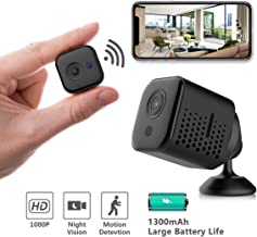 Hidden Camera Wireless, Novosun Portable Mini Spy Camera,WiFi 1080P Nanny Cams, Security Camera for Home and Outdoor (with Cell Phone APP)