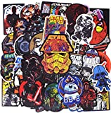 Stickers, (48pcs) Autocollants pour pc, Smartphone, vélo, Trottinette, Snowboard,