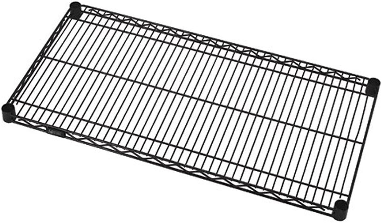 Quantum Storage Systems Black Wire Shelves 12  X 36
