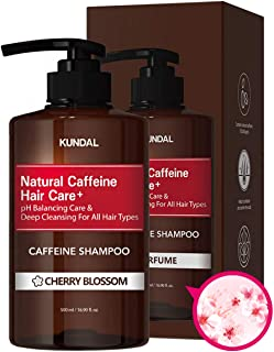 Sponsored Ad - KUNDAL CAFFEINE ANTI-HAIR LOSS SHAMPOO Scalp Care Deep Cleansing(Cherry Blossom) 17fl oz