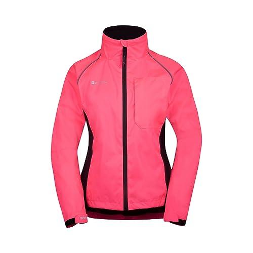 3bffcaae679dc Mountain Warehouse Adrenaline Womens Jacket - Breathable Ladies Jacket,  Taped Seams, Waterproof Raincoat,
