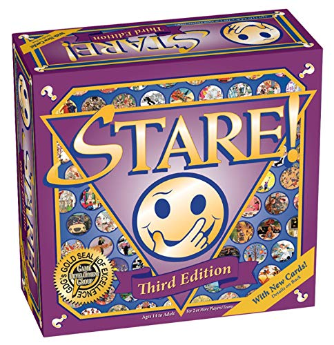 Stare Family Board Game - 3rd Edition for Ages 14 to Adult
