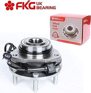 FKG 513188 Front Wheel Bearing Hub Assembly for 02-09 Chevy Trailblazer (EXT), 03-06 Chevy SSR, 02-09 GMC Envoy, 03-08 Isuzu Ascender, 04-07 Buick Rainier, 05-09 SAAB 9-7X, 6 Lugs W/ABS