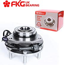 FKG 513188 Front Wheel Bearing Hub Assembly for 02-09 Chevy Trailblazer (EXT), 03-06 Chevy SSR, 02-09 GMC Envoy, 03-08 Isuzu Ascender, 04-07 Buick Rainier, 05-09 SAAB 9-7X, 6 Lugs W/ABS