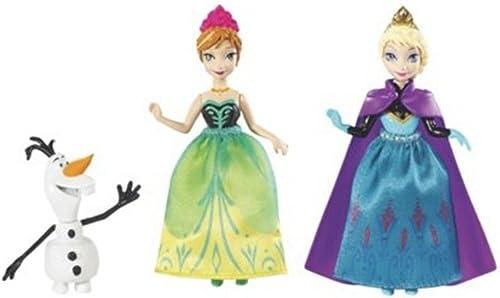 Mattel - Coffret Personnages Fabuleux Frozen