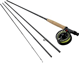 Redington Fly Fishing Combo Kit 590-4 Topo Ii Outfit with Crosswater Reel 5 Wt 9-Foot 4pc