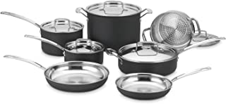 Cuisinart MCU-12N MultiClad Unlimited Dishwasher Safe 12-Piece Cookware Set
