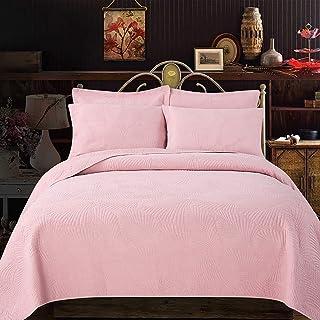 WEHQ Colcha Edredón King Size Funda nórdica Juegos de Cama de 3 Piezas 100% algodón Acolchado Juego de sábanas de Dormitorio de 3 Piezas Juego de Cama King Size