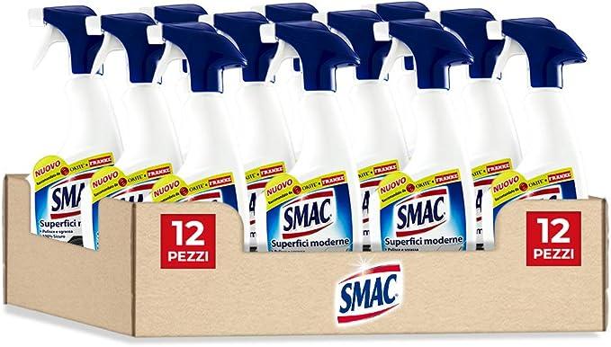 67 opinioni per Smac Sgrassatore Spray per Superfici Moderne e Delicate, Detergente per Casa e