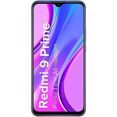 (Renewed) Redmi 9 Prime (Matte Black, 4GB RAM, 128GB Storage) - Full HD+ Display & AI Quad Camera