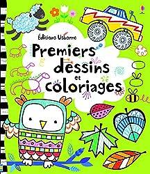 livres pour apprendre à dessiner premiers dessins et coloriages