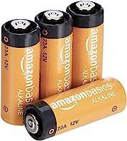 Amazon Basics 23A Alkaline Battery - Pack of 4
