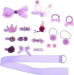 18Pcs/set Animal Hairband Kids Hair Accessories Baby Girl Hair Rope