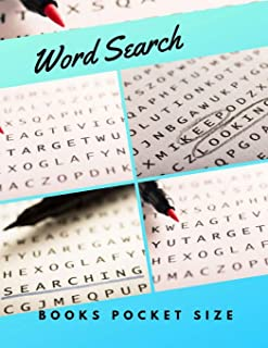 Word Search Books Pocket Size: Brain Games Extreme Word Search, Pocket size word search books AND infinite word search puzzles. 67 USA Today Word Search Books