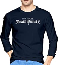JILILY New Custom Five Finger Death Punch Fashion T-Shirt O-Neck 100% Soft Cotton for Boys Black
