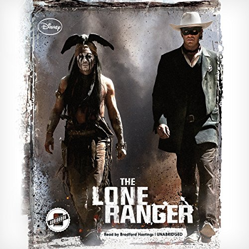 The Lone Ranger audiobook cover art
