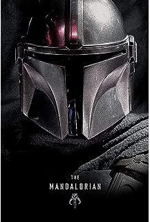 【予約商品】 STAR WARS スターウォーズ (映画公開記念「スカイウォーカーの夜明け」) - The Mandalorian (Dark) / ポスター 【公式/オフィシャル】