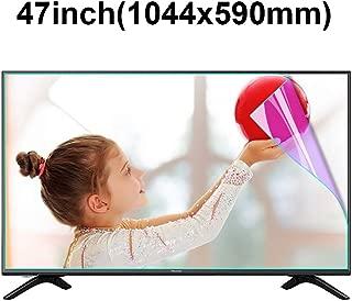 KUYUC 47 inchs TV Screen Protector, Anti Blue Light Eye Protection, Ultra-Clear Anti-Glare Screen Filter, Anti-Scratch Screen Protector, Filter Film Reduce Eye Fatigue (Color : A)
