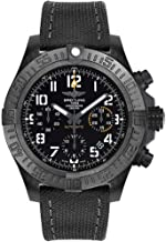Breitling Avenger Hurricane 45mm Men's Watch on Anthracite Canvas Strap XB0180E4/BF31-109W