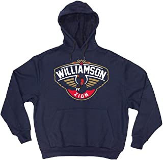 Navy New Orleans Logo Zion Hooded Sweatshirt
