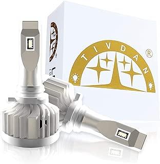 TIVDAN 9012 LED Headlight Bulbs Conversion Kit, 5320 Lumens HIR2 LED Bulb, OSRAM Chips to replace High Beam, Low Beam Bulb ( White 5500K)