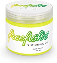 freefish's Keyboard Cleaner, Universal Keyboard Cleaner Gel Dust Cleaner for PC Tablet Laptop Keyboards, Car Vents, Cameras, Printers, Calculators, Screens and Other Plastic Rugged Surface