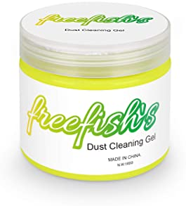 Keyboard Cleaner, Freefish's Universal Keyboard Cleaner Gel Dust Cleaner for PC Tablet Laptop Keyboards, Car Vents, C...